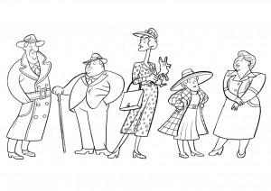 1940s catwalk