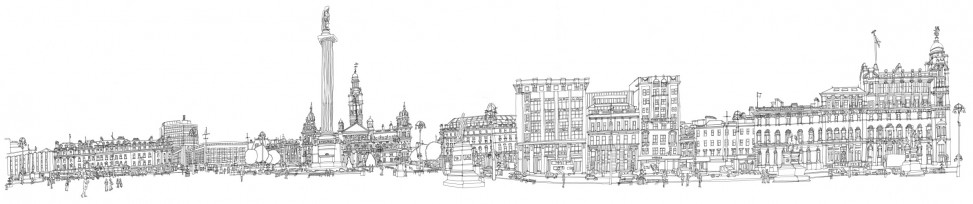 George Square colouring sheet